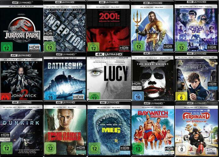 Bei den Preisen und Filmen kann man nicht meckern! 4K Blu-rays unter 15 Euro