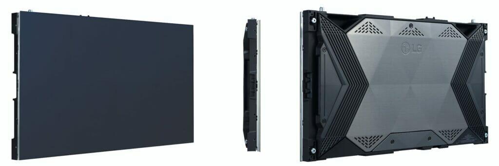 Der LG MicroLED TV besteht aus solchen Modulen die zusammengesteckt werden.