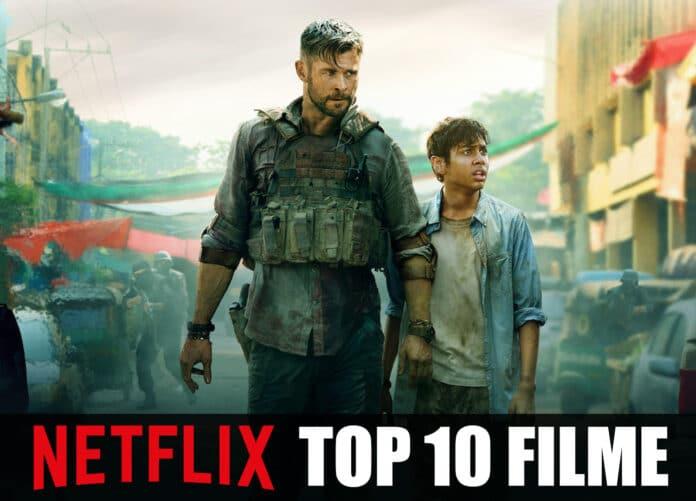 Die 10 meistgesehen Filme auf Netflix