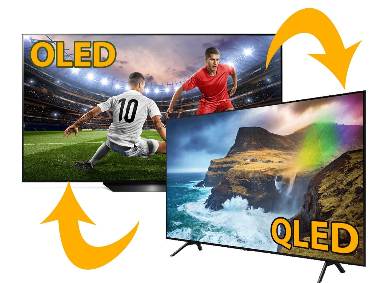 OLED (B9) und QLED (Q70R) TV in 65 Zoll zum Bestpreis bei ...