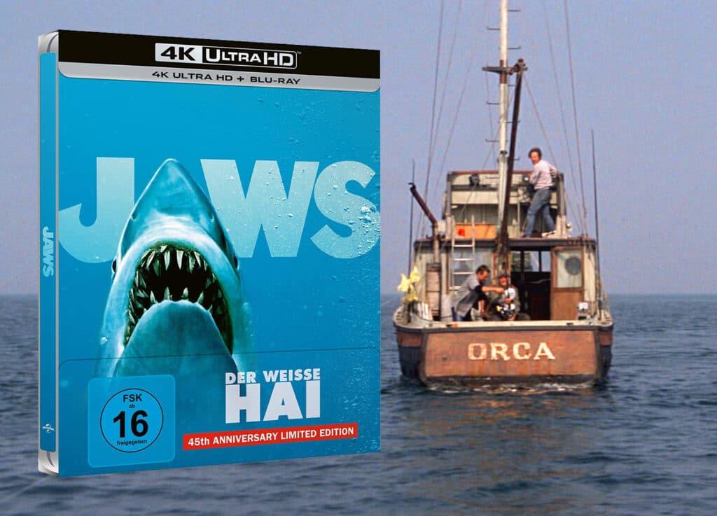 """Die 4K Blu-ray von """"Der weiße Hai"""" hat uns im Test überzeugt!"""