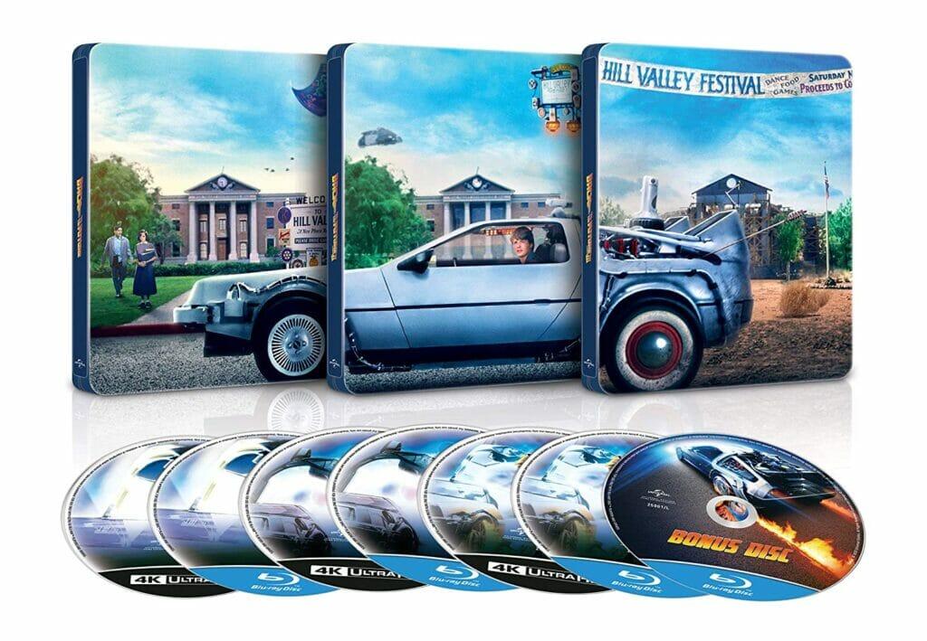 Zurück in die Zukunft Steelbook 4K Blu-ray