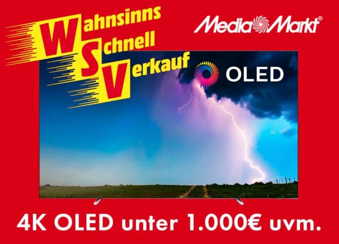 Eines der Highlights ist ein 4K OLED TV von Philips mit Ambilight für unter 1.000 Euro!