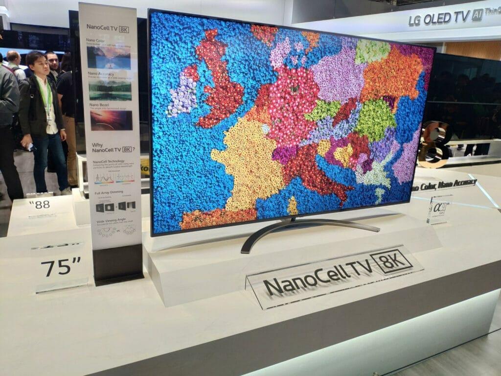 LG NanoCell 8K CES 2019
