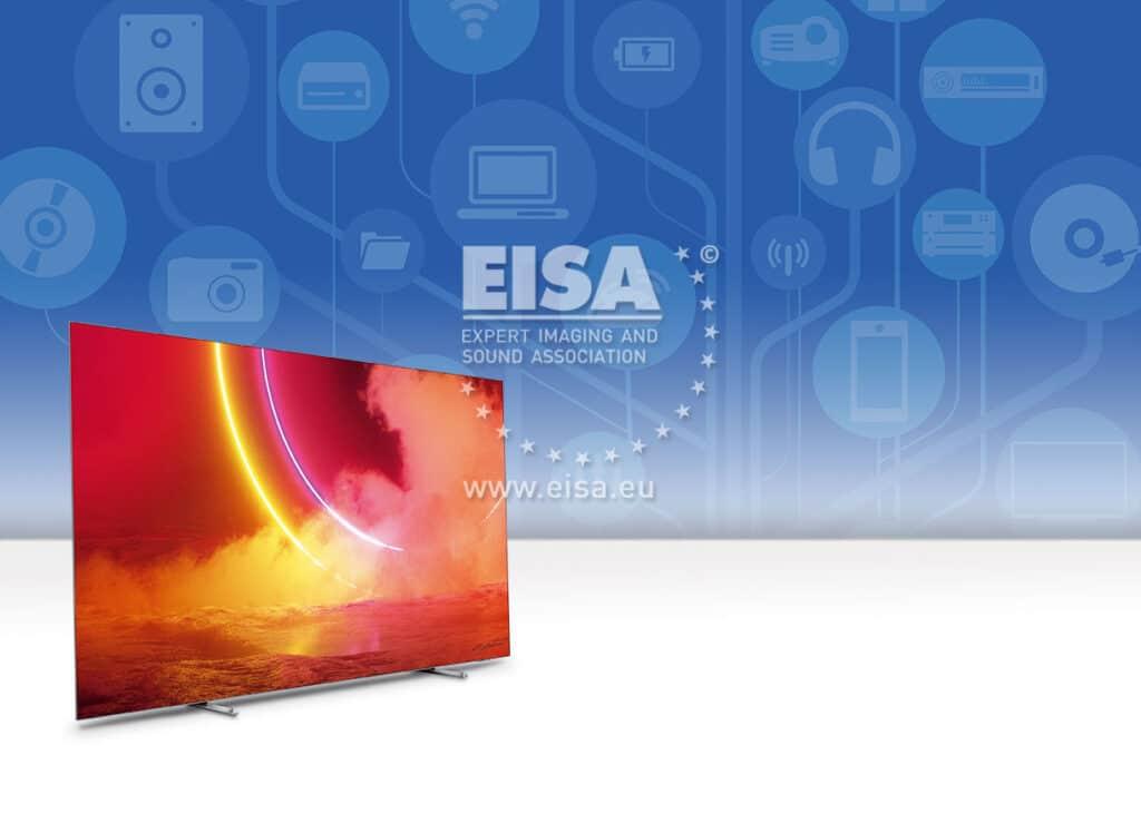 """Der 55OLED805 konnte sich den """"Preis/Leistungs""""-Award der OLED-TVs sichern"""