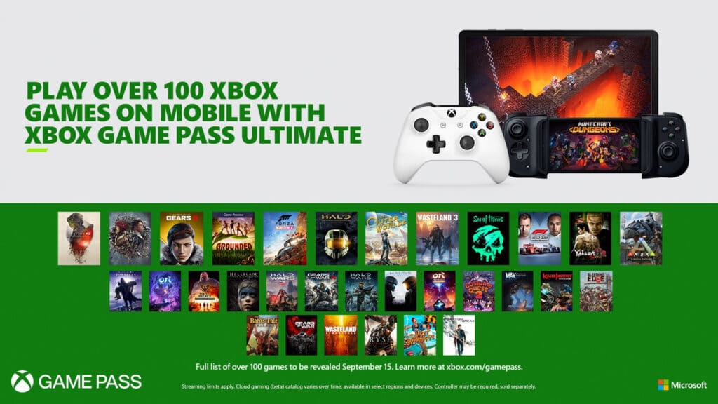 Xbox Game Pass Ultimate Mobile