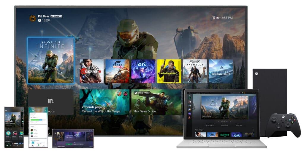 Xbox UI Neu
