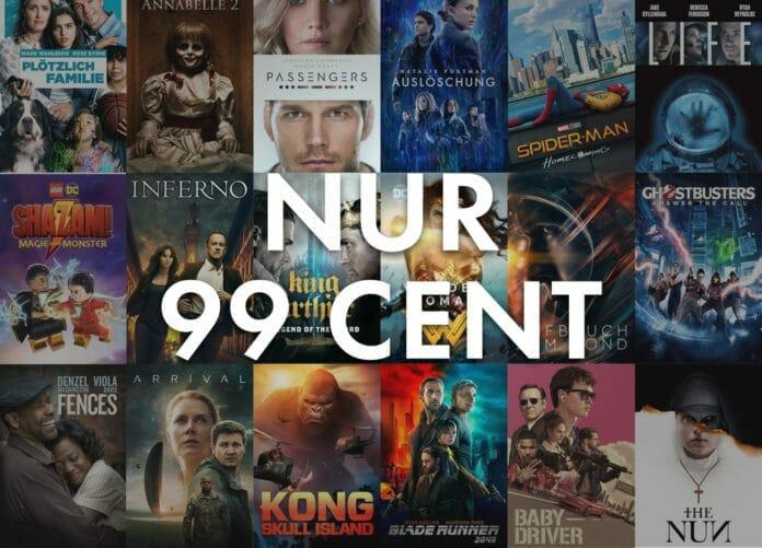 iTunes 4K/HDR Filme für 99 Cent leihen