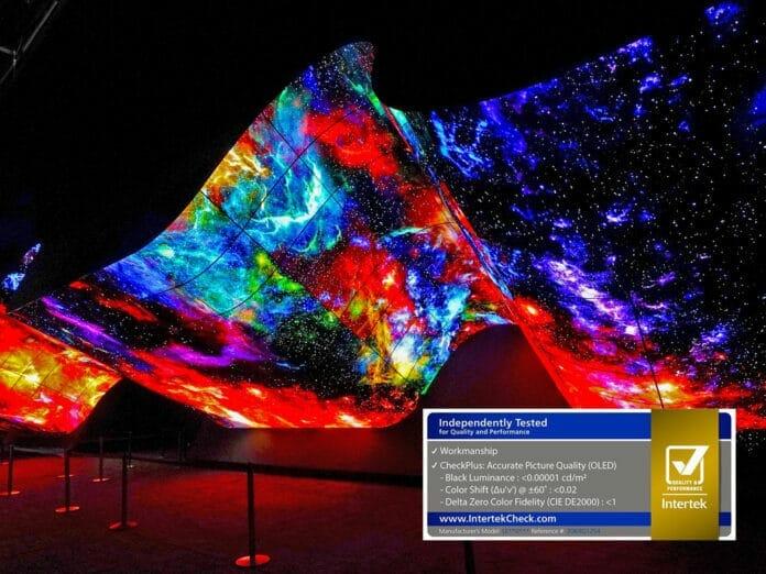 LG OLED Auszeichnung Intertek akkurate Bildqualität