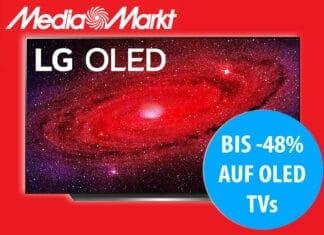 Mediamarkt (und Saturn) bieten aktuelle 4K OLED Modelle zu Bestpreisen an!
