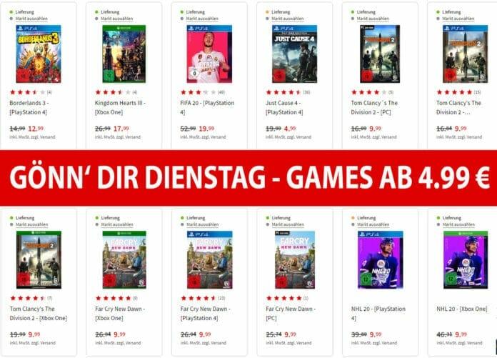 Zocken zum kleine Preis: PS4 und Xbox One Games ab 4.99 Euro!