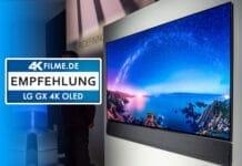 Test LG GX 4K OLED 55 Zoll