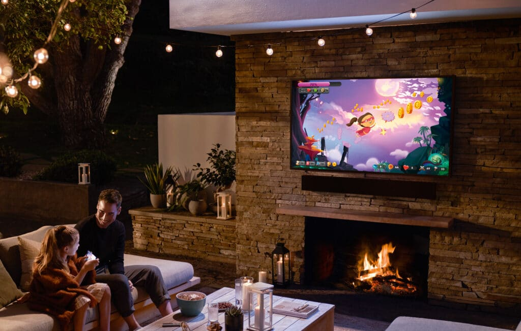The Terrace: Ein 4K QLED Outdoor-TV ready for Gaming (HDMI 2.1 - 4K/120p)