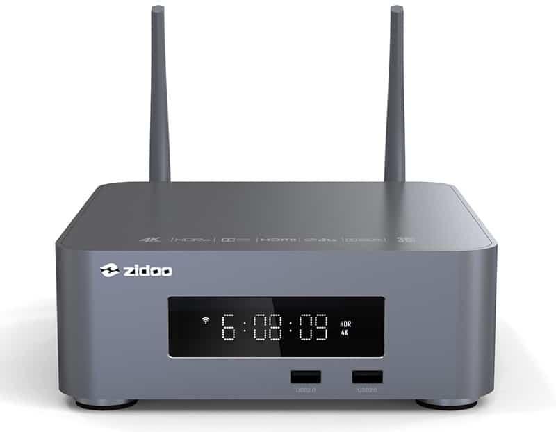 Der Zidoo Z10 Pro kann alles was der Z1000 Pro auch kann, nur günstiger: 309 Euro