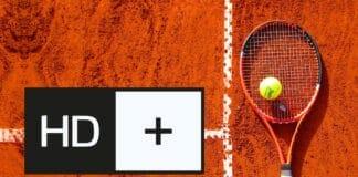 Über 120 Stunden: Tennis-Spitzensport in Ultra HD und HDR auf HD+