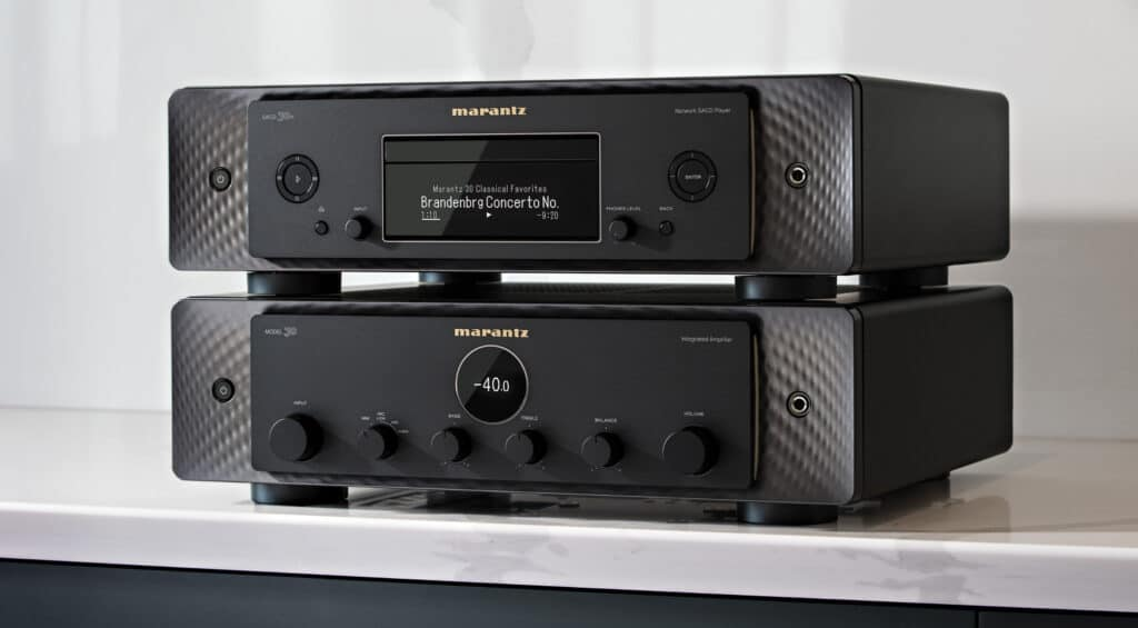 Marantz Model 30 und SACD
