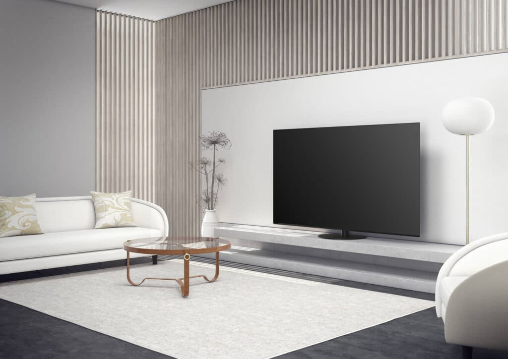 Der neue Panasonic-OLED-TV HZW984