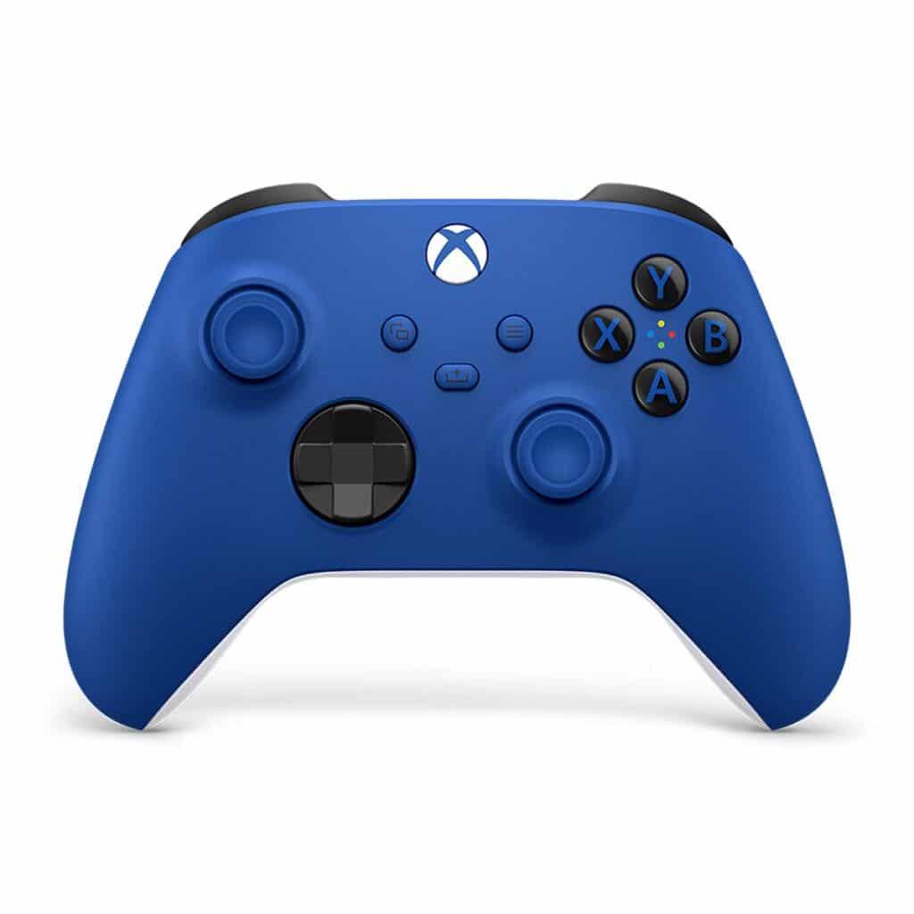 Den Controller der Xbox Series S und Series X gibt es auch in der Farbe Blau