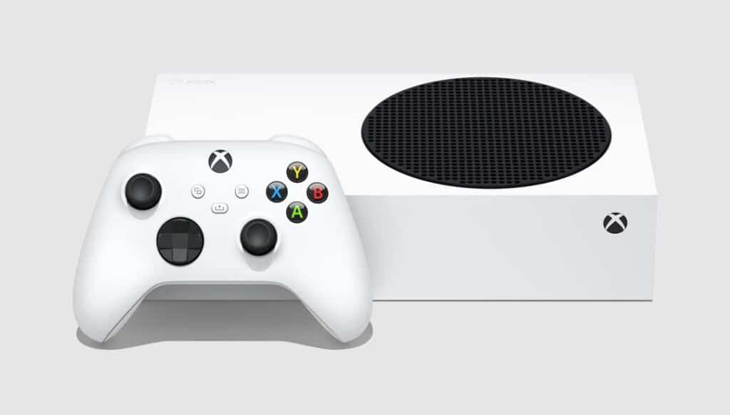 Xbox Series S - Liegend