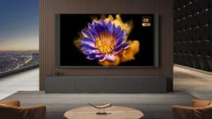 Der Xiaomi Mi TV Lux mit 8K-Auflösung