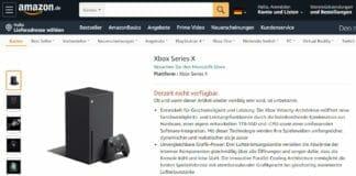 Am 22. Sept. um 9:00 Uhr könnt ihr die neuen Xbox-Konsolen auf Amazon.de und anderen Online-Shops ordern