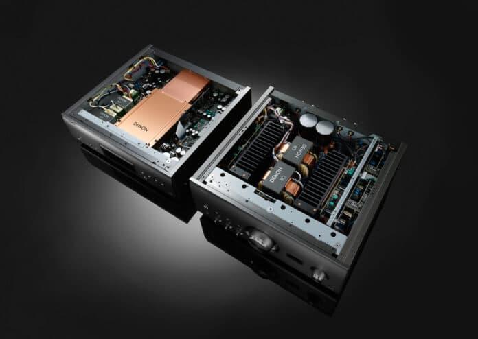 Der SACD-Player DCD-A110 und Vollverstärker PMA-A110 von Denon