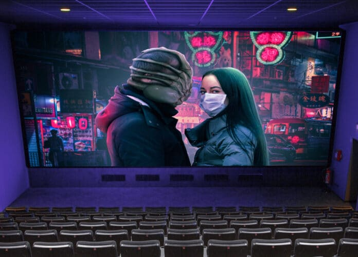 Maskenpflicht Schauspieler vor der Kamera