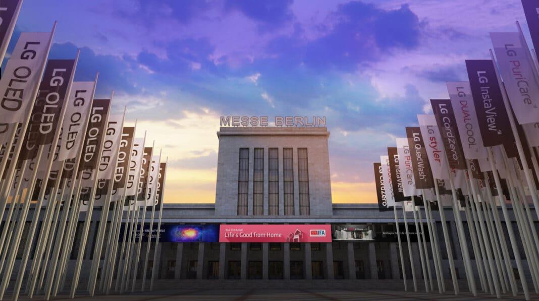 Der Nord-Eingang der IFA gehört seit Jahren LG Electronics