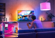Ambilight zum Nachrüsten: Philips Hue Play Gradient Lightstrip
