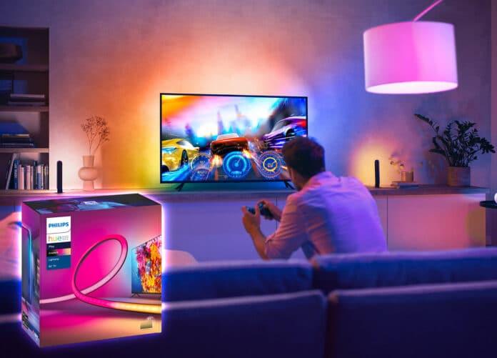 Ambilight zum Nachrüsten: Philips Hue Play Gradient Lightstrip
