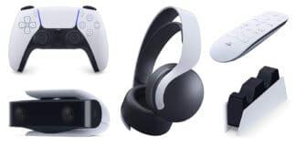 Sony kommuniziert die Preise des Zubehörs für die PS5