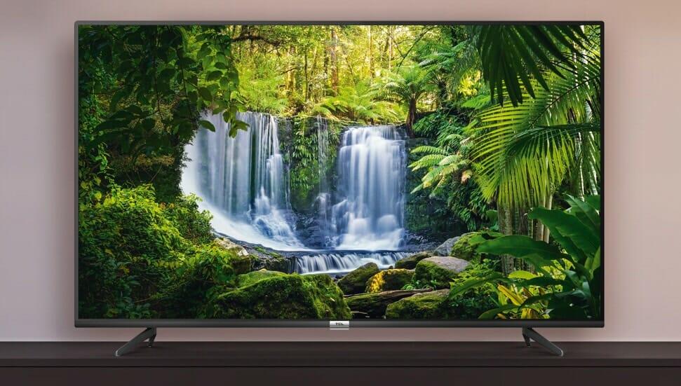 Der TCL P61 4K HDR Android TV im Slim Design