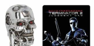 Streng limitiert: Terminator 2 4K Blu-ray Steelbook + T800 Metal-Head