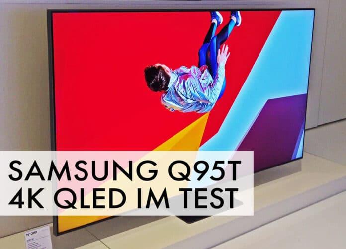 Test Q95T 4K QLED Samsung