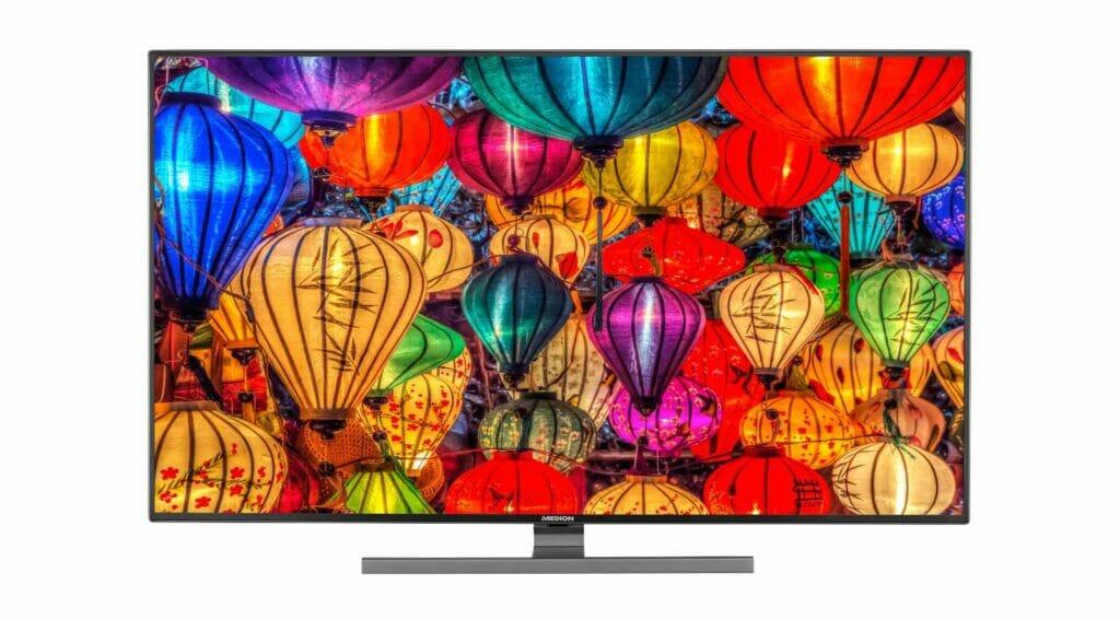 Der Medion S15555 legt 4K und Dolby Vision auf 55 Zoll Diagonale an.
