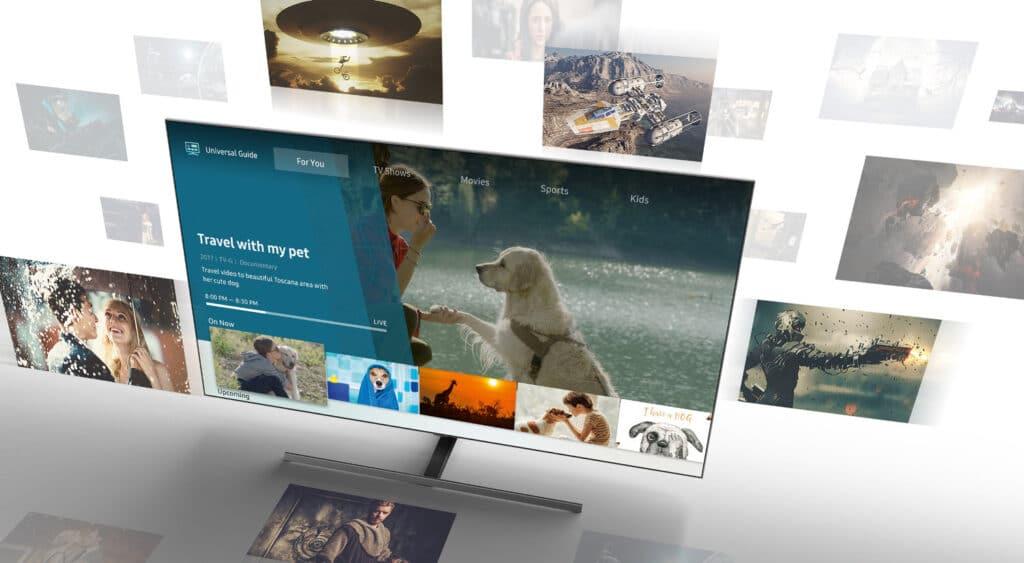 Samsungs TVs mit Tizen erhalten MagentaTV.