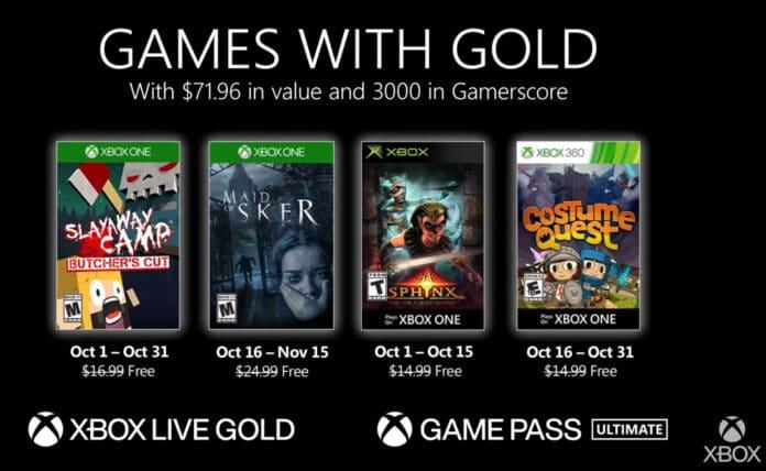 Microsoft und Sony spendieren Abonnenten im Oktober 2020 neue Spiele.