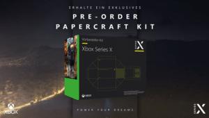Wer die Xbox Series X vorbestellt, erhält ein Papercraft-Kit bei Media Markt und Saturn.