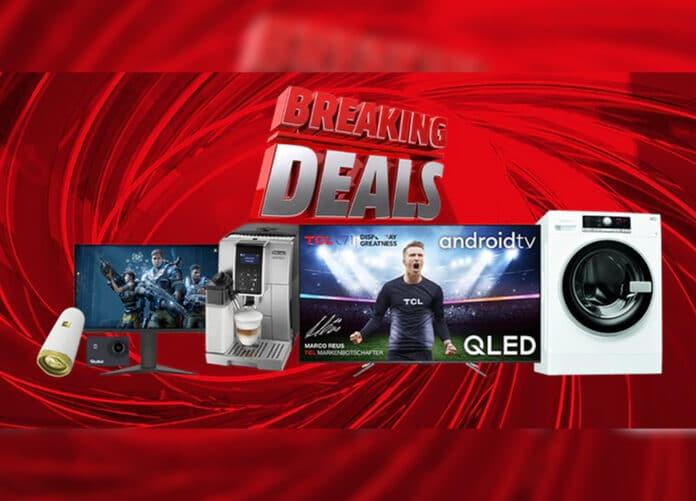 Von Donnerstag bis Montag: Media Markt Breaking Deals mit 6 Top-Angeboten
