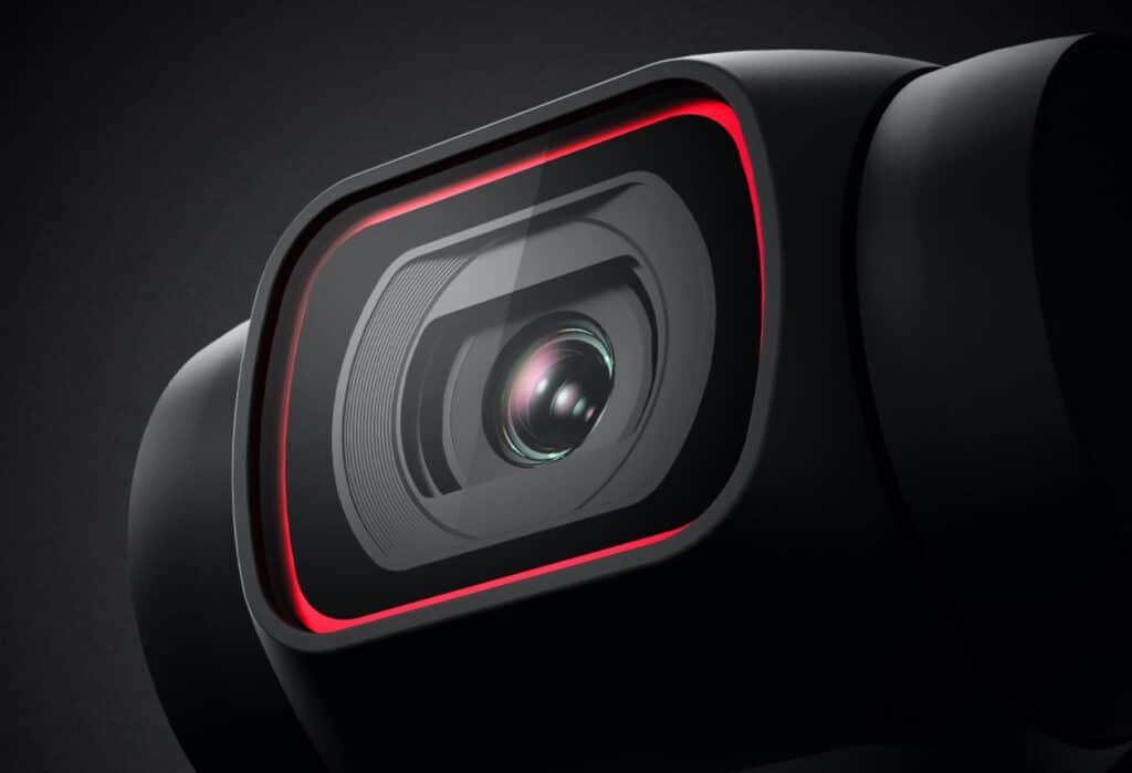 Nur echt mit dem roten Ring! Die Kamera der DJI Pocket 2 mit größerem Bildsensor