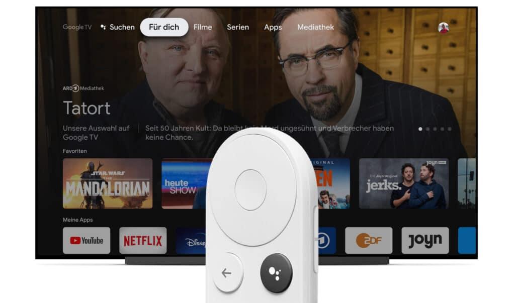 Der neue Google Chromecast mit Google TV ist da
