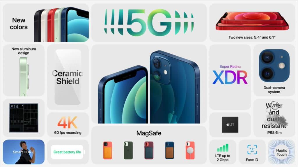 Die wichtigsten Features des iPhone 12