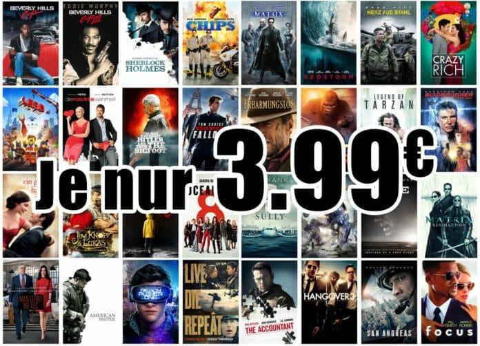 Über 40 Titel in 4K Auflösung mit Dolby Vision können für je nur 3.99 Euro auf iTunes gekauft werden!
