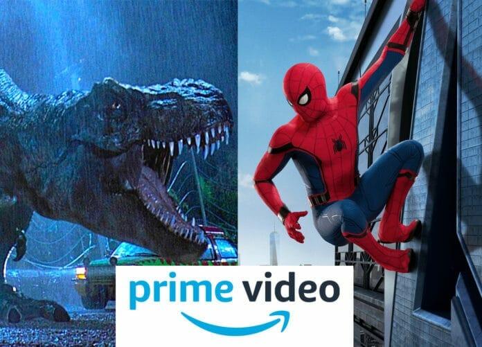 4K Streaming kostenlos für Prime Abonnenten auf Prime Video - z.B. Spider-Man: Homecoming oder Jurassic Park