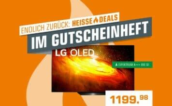 Absolute Schnäppchen: LGs 55 Zoll BX 4K OLED TV (2020) für 1.199 Euro!
