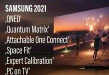 Samsung TV Lineup 2021 QNED Quantum Matrix
