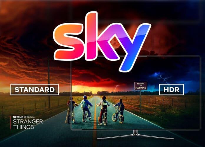 Mit dem nächsten großen Sky Q Update hält HDR in der Netflix-App Einzug - zudem wir die Sprachsteuerung verbessert