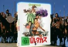 Das limitierte Spartacus 4K Blu-ray Steelbook mit japanischem Artwork