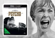 Test Psycho 4K Blu-ray