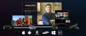 Waipu.tv läuft auf allen wichtigen Plattformen, ob Smart TV, Laptop, Tablet oder Smartphone